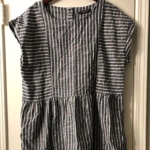 Violeta striped women's top (tunic)
